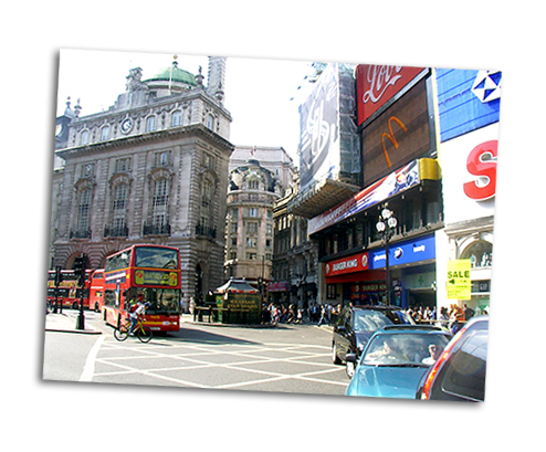 Sprachreise London Picadilly
